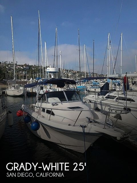 Used Grady-White Boats For Sale in California by owner | 2003 Grady-White Voyager 25
