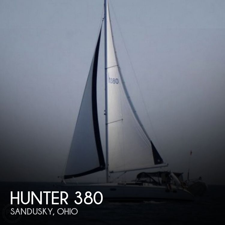 Used Boats For Sale in Cleveland, Ohio by owner | 1999 Hunter 380