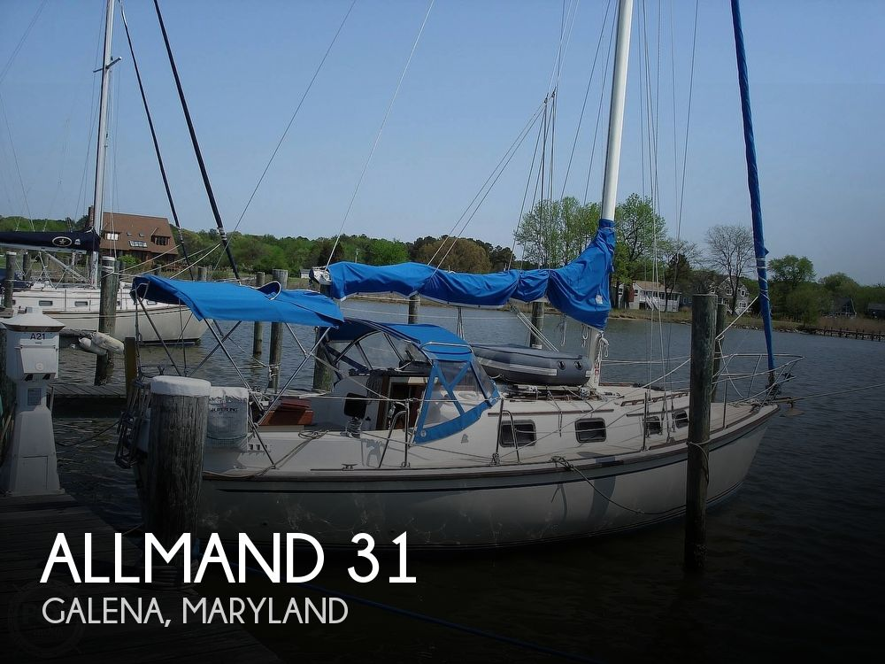 Used Allmand Boats For Sale by owner | 1982 Allmand 31
