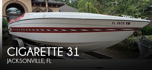 Used Cigarette Boats For Sale by owner | 1989 Cigarette 31