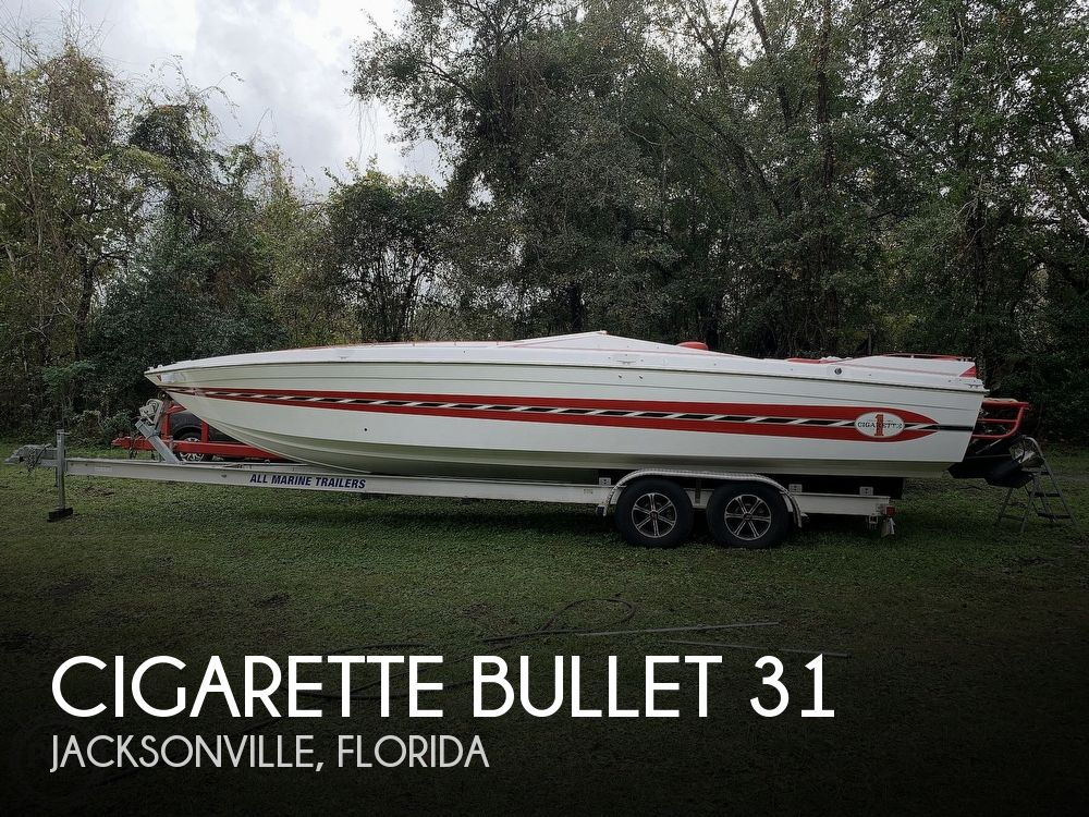 1989 Cigarette boat for sale, model of the boat is Bullet 31 & Image # 1 of 40