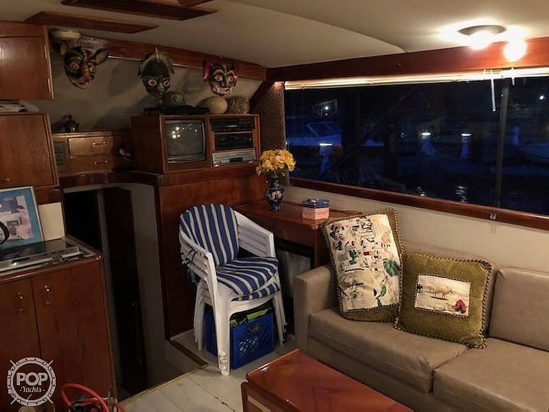1988 Ocean Yachts boat for sale, model of the boat is 38 Super Sport & Image # 36 of 40
