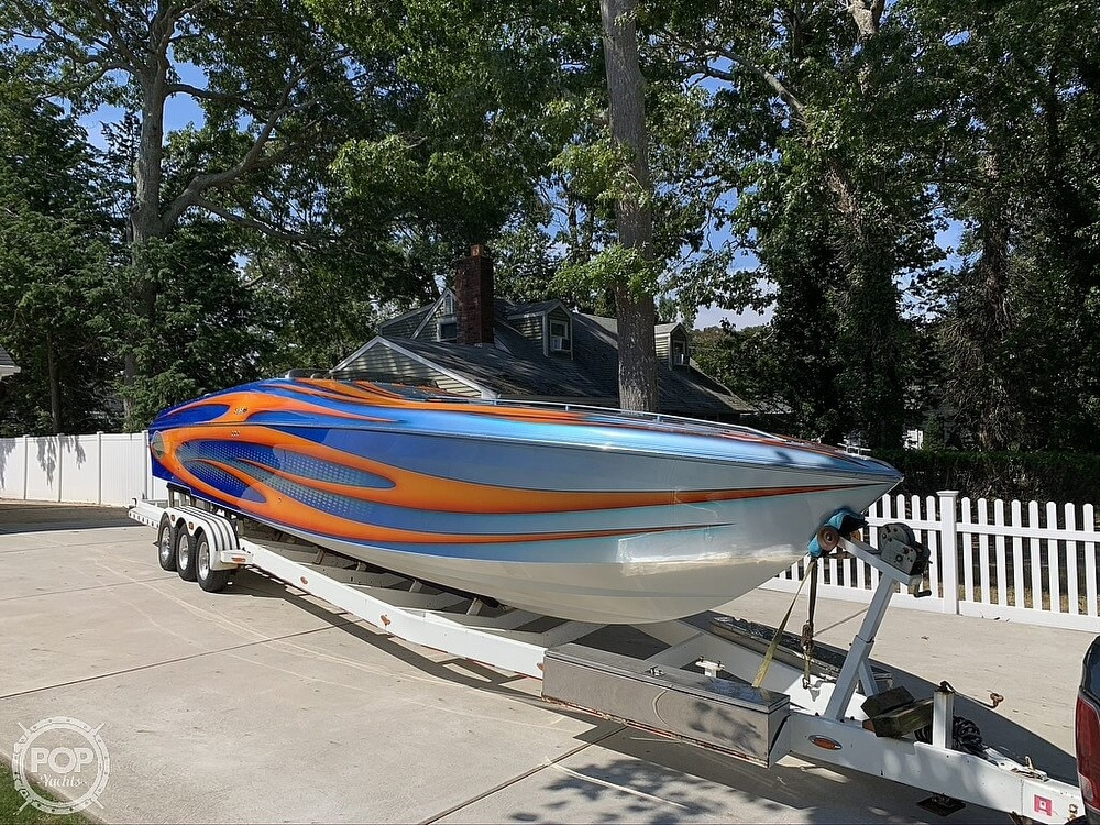 2002 Outerlimits boat for sale, model of the boat is Stiletto 37 & Image # 7 of 41