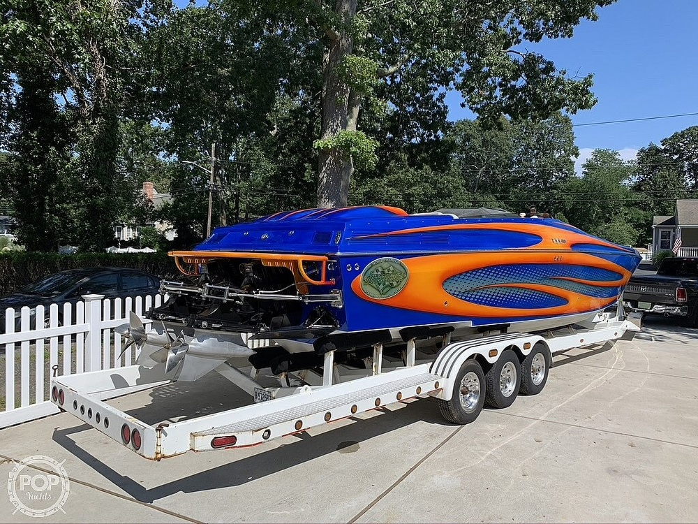 2002 Outerlimits boat for sale, model of the boat is Stiletto 37 & Image # 12 of 41