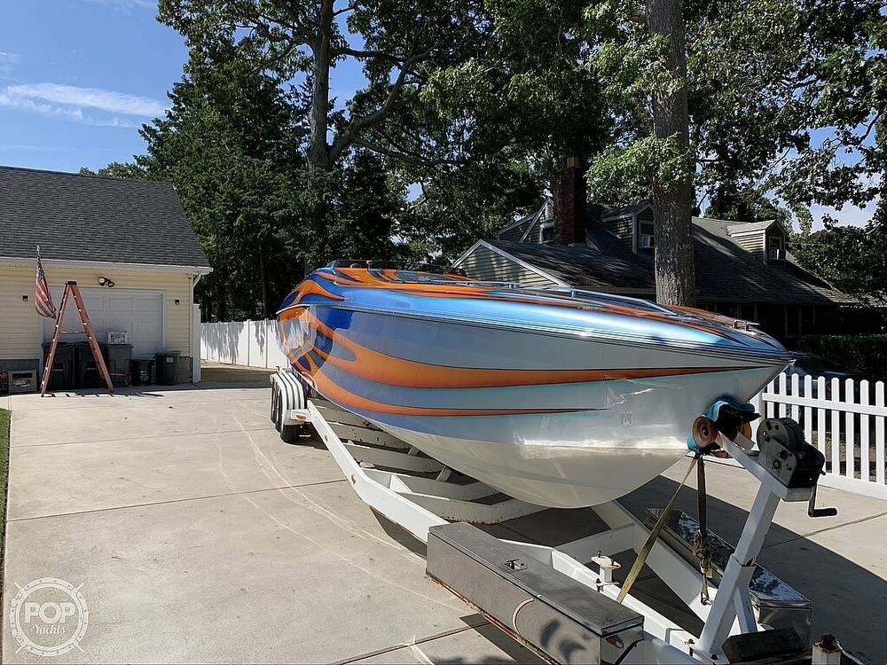 2002 Outerlimits boat for sale, model of the boat is Stiletto 37 & Image # 5 of 41
