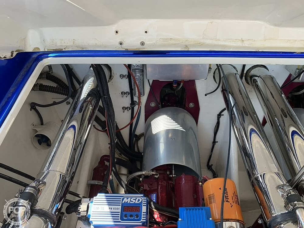 2002 Outerlimits boat for sale, model of the boat is Stiletto 37 & Image # 29 of 41