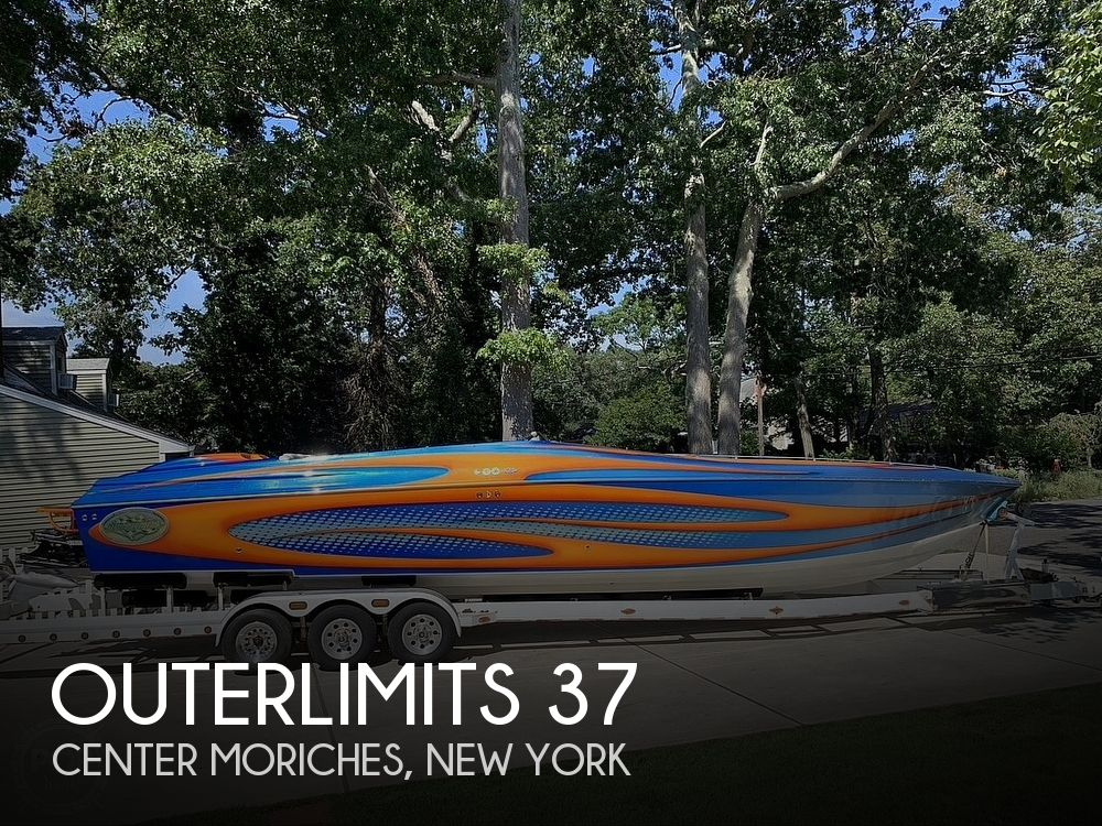 2002 Outerlimits boat for sale, model of the boat is Stiletto 37 & Image # 1 of 41