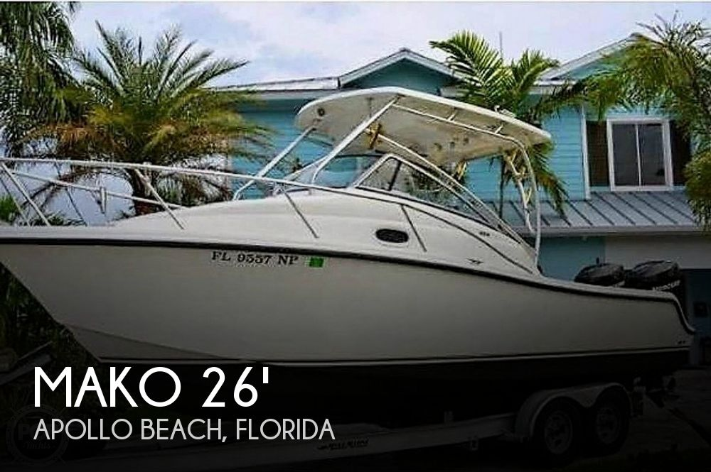 Used MAKO Boats For Sale in Florida by owner | 2008 Mako 26'