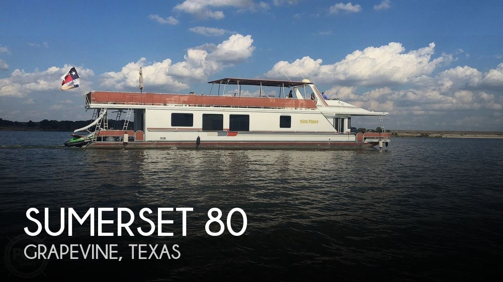 Used Boats For Sale in Dallas, Texas by owner | 2001 Sumerset 80