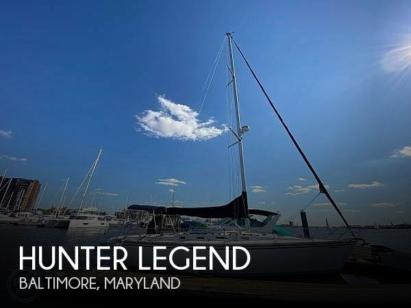 Used Hunter Sailboats For Sale in Maryland by owner | 1985 37 foot Hunter Legend