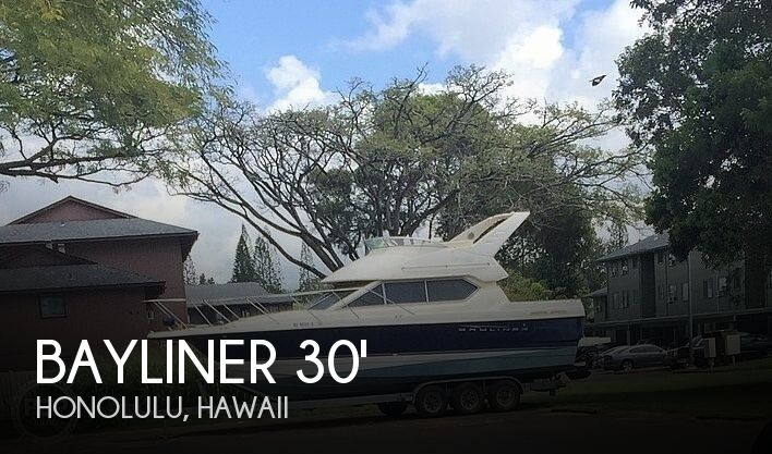 Used Boats For Sale in Honolulu, Hawaii by owner | 2008 Bayliner 30