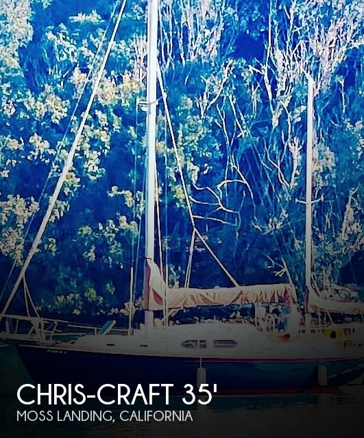 Used Chris-Craft Boats For Sale in California by owner | 1977 35 foot Chris-Craft Caribbean