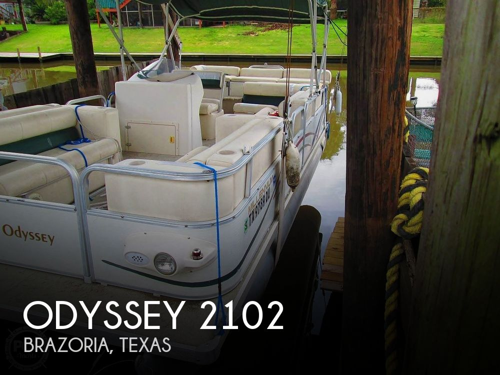 2003 Odyssey boat for sale, model of the boat is MILLENIUM 2102 & Image # 1 of 25