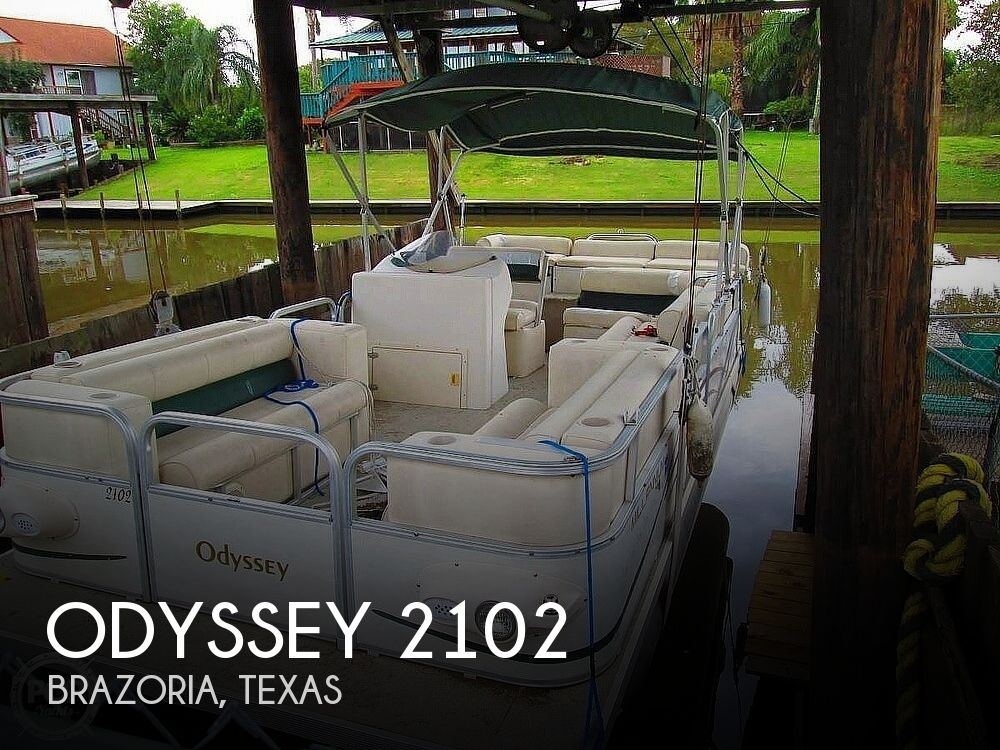 2003 Odyssey boat for sale, model of the boat is MILLENIUM 2102 & Image # 1 of 26