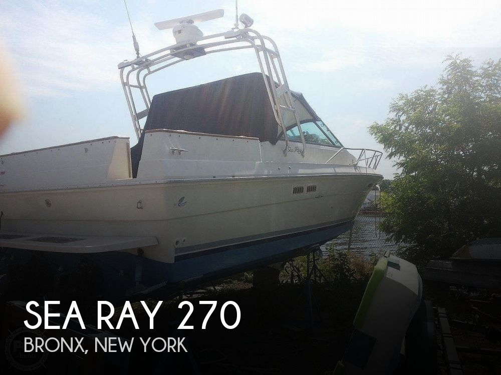 Used Sea Ray M Boats For Sale by owner | 1988 Sea Ray 27 Amberjack