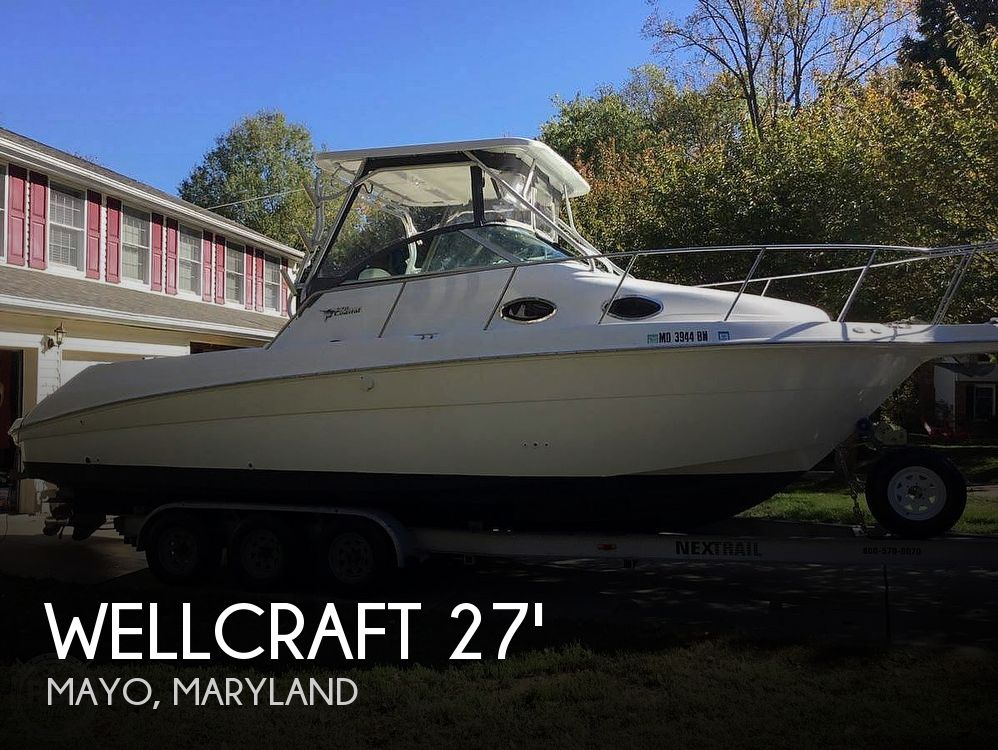 Used Wellcraft 27 Boats For Sale in Maryland by owner | 2001 Wellcraft 270 coastal