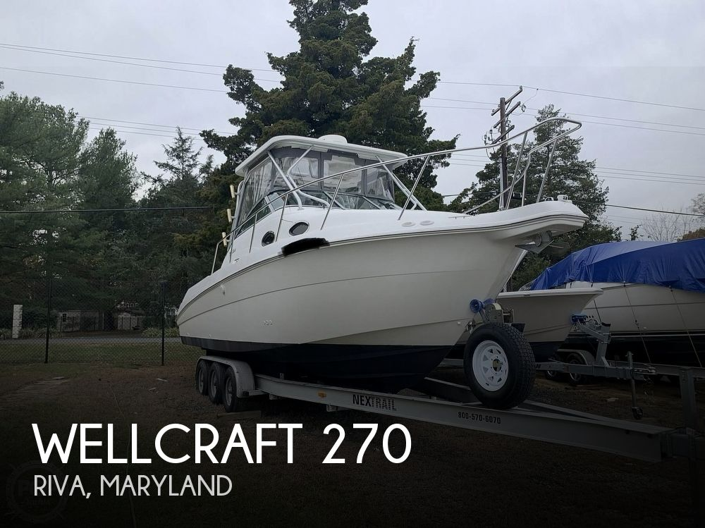 2001 Wellcraft boat for sale, model of the boat is 270 Coastal & Image # 1 of 40