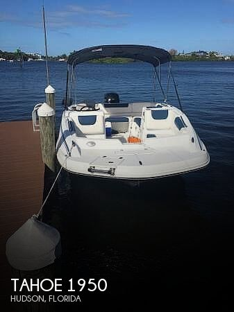 2018 Tahoe boat for sale, model of the boat is 1950 & Image # 1 of 41