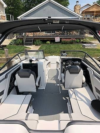 2018 Yamaha boat for sale, model of the boat is AR240 & Image # 7 of 14