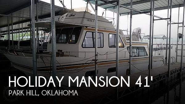 Used Houseboats For Sale in Tulsa, Oklahoma by owner | 1995 Holiday Mansion 41