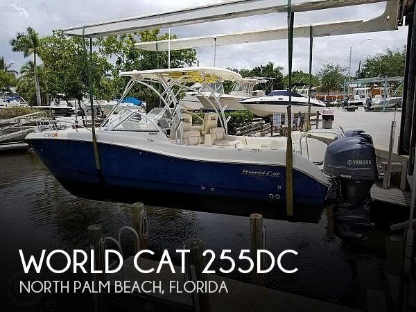 Used World Cat Boats For Sale by owner | 2014 World Cat 255 Dc