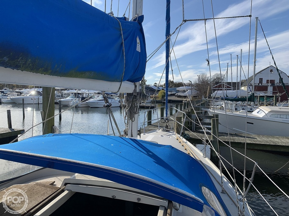1982 O'day boat for sale, model of the boat is 37 & Image # 10 of 40