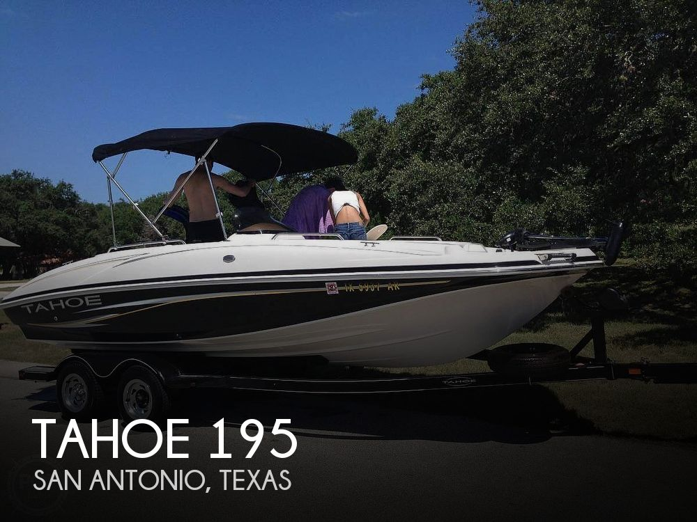 Used Tahoe Deck Boats For Sale by owner | 2008 Tahoe 195