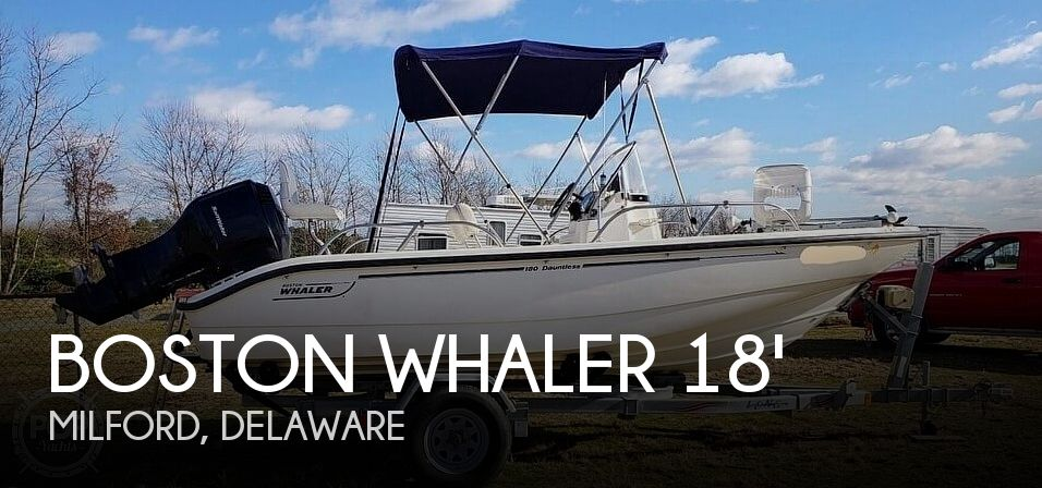 Used Boston Whaler 18 Boats For Sale by owner | 2005 Boston Whaler 180 Dauntless
