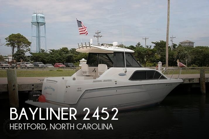Used Bayliner Boats For Sale in North Carolina by owner | 2002 Bayliner 2452 Ciera Classic