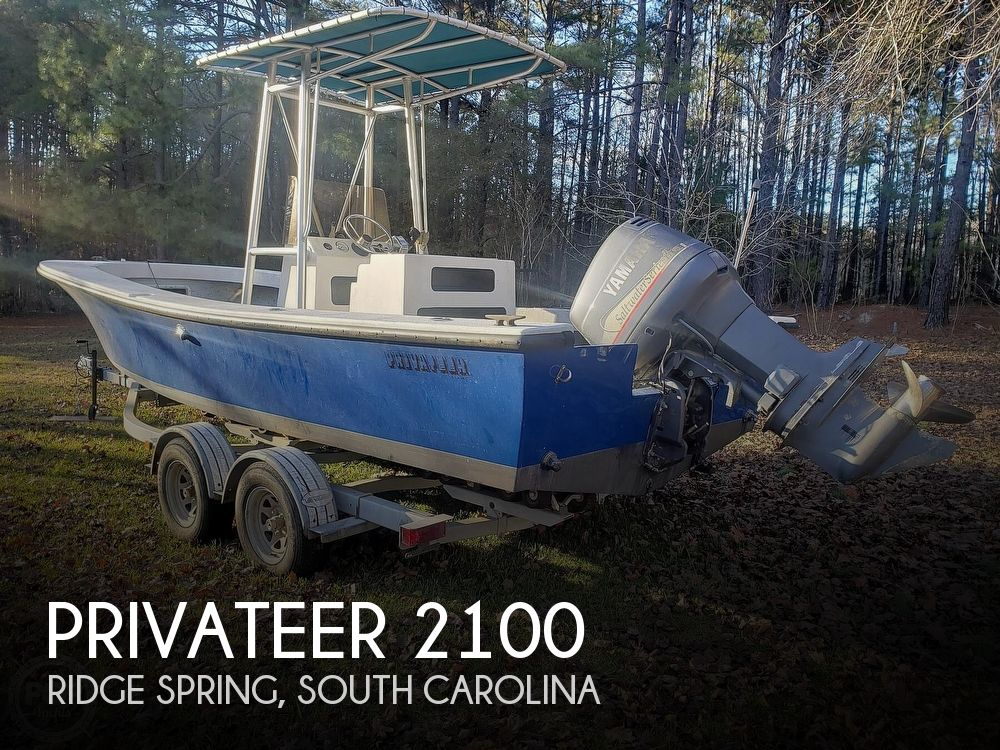 1986 Privateer boat for sale, model of the boat is 2100 ROAMER II & Image # 1 of 41