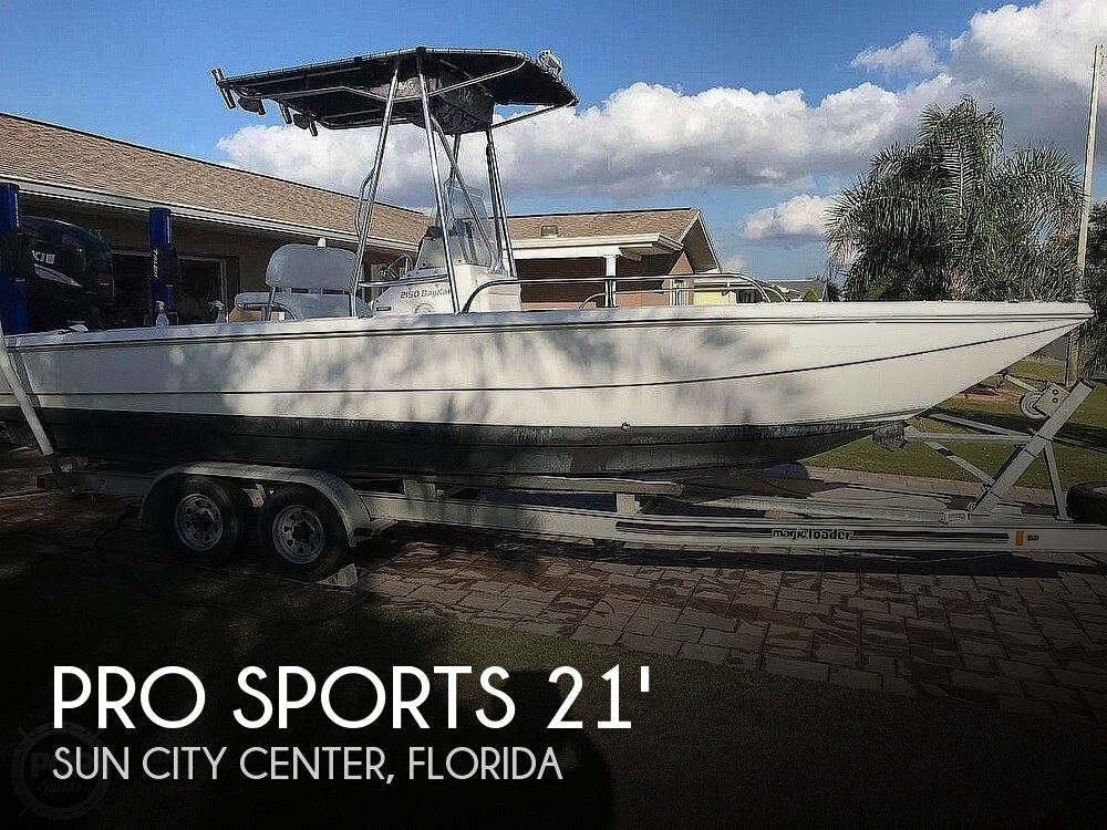 Used Pro Sports Boats For Sale by owner | 2008 Pro Sports 2150 BayKat