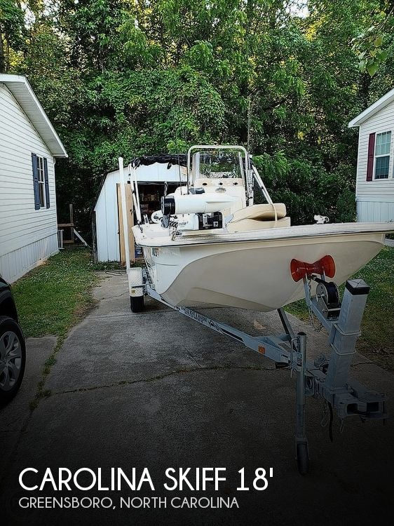 Used Carolina Skiff Boats For Sale in North Carolina by owner | 2018 Carolina Skiff 18 JVX CC