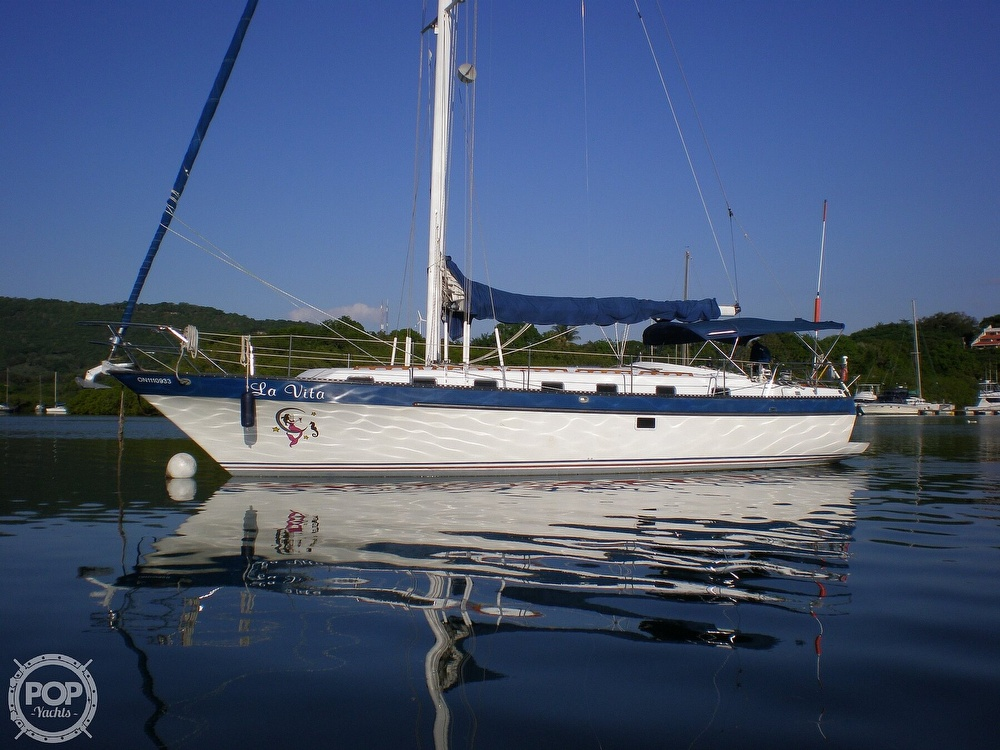 1981 Lancer Yachts boat for sale, model of the boat is 42 & Image # 28 of 33