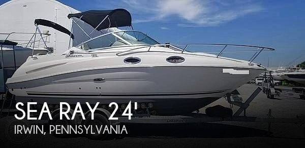 Used Boats For Sale in Pittsburgh, Pennsylvania by owner | 2007 Sea Ray 240 Sundancer