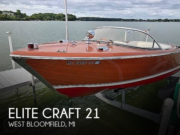 Used Elite Craft Boats For Sale by owner | 1992 Elite Craft 21
