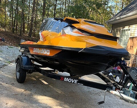 2017 Sea Doo PWC boat for sale, model of the boat is GTI SE 130 & Image # 9 of 15