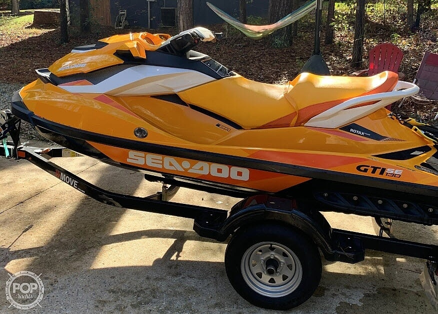 2017 Sea Doo PWC boat for sale, model of the boat is GTI SE 130 & Image # 10 of 15