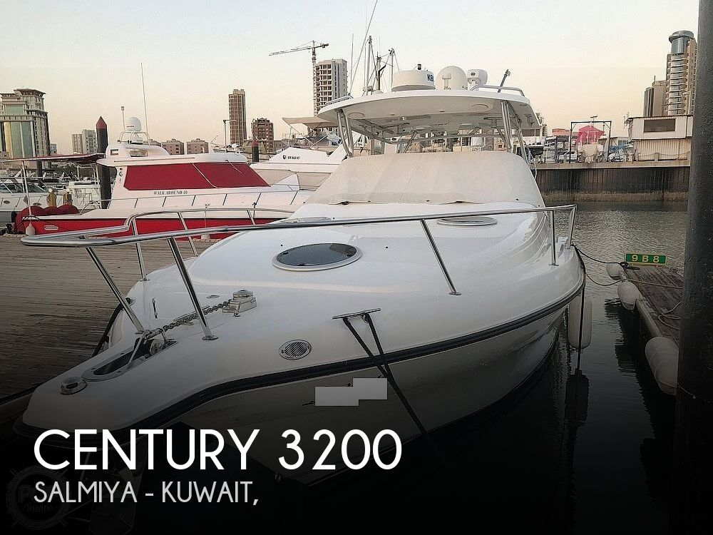 2008 Century boat for sale, model of the boat is 3200 OFFSHORE Walkaround & Image # 1 of 29