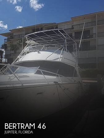 Used BERTRAM Fishing boats For Sale by owner | 1984 Bertram 46