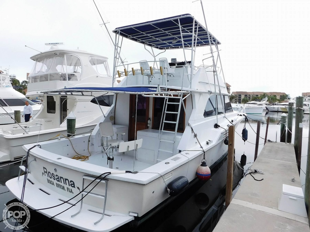1984 Bertram boat for sale, model of the boat is 46 Sport Fish & Image # 7 of 40