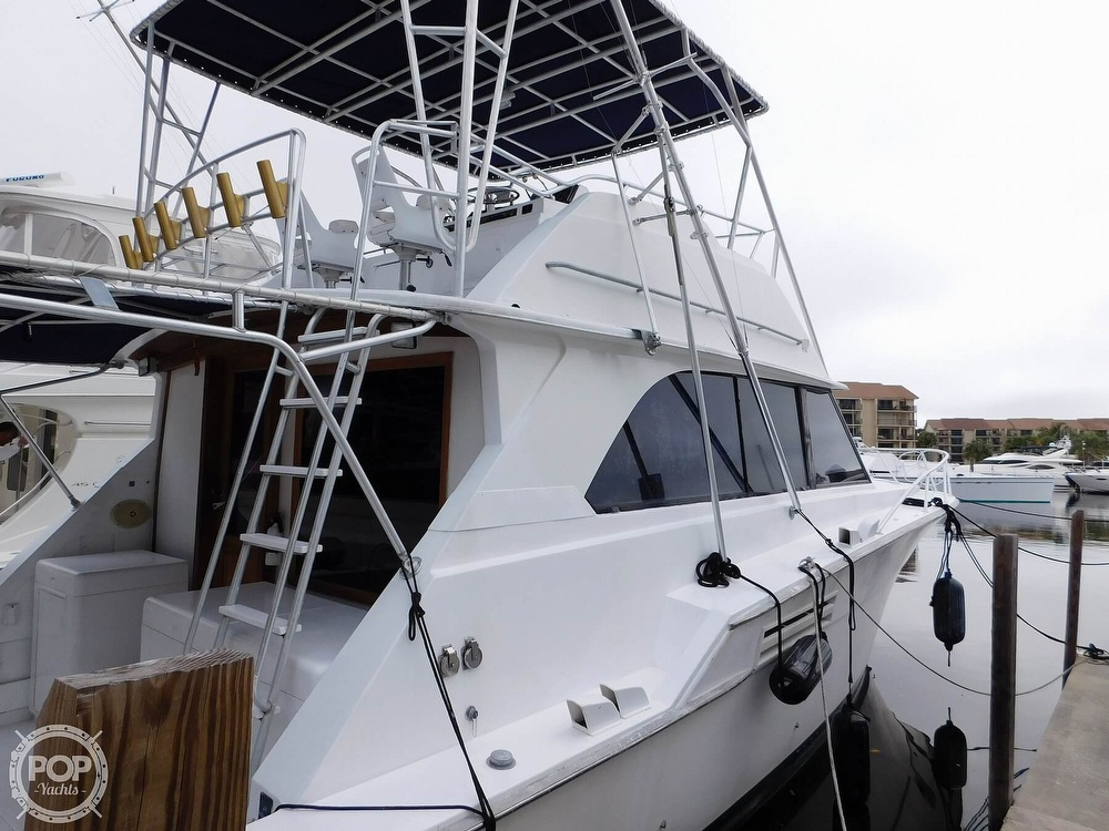 1984 Bertram boat for sale, model of the boat is 46 Sport Fish & Image # 9 of 40