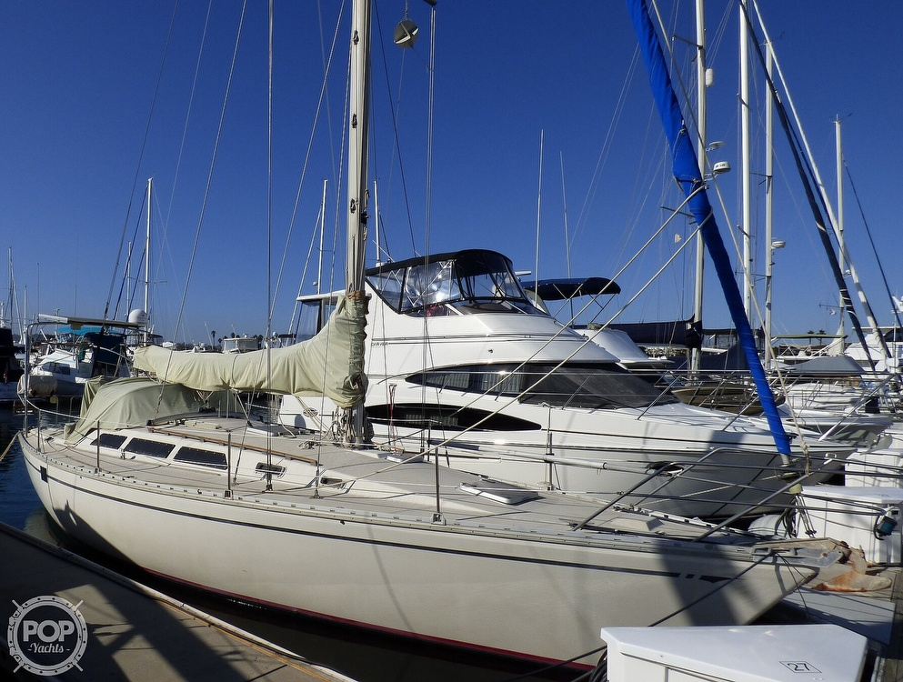1983 O'day boat for sale, model of the boat is 39 & Image # 3 of 40