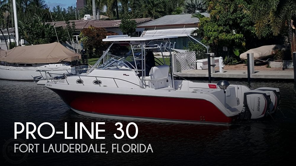 Used Pro-Line Boats For Sale by owner | 2000 Pro-Line 30 Walkaround