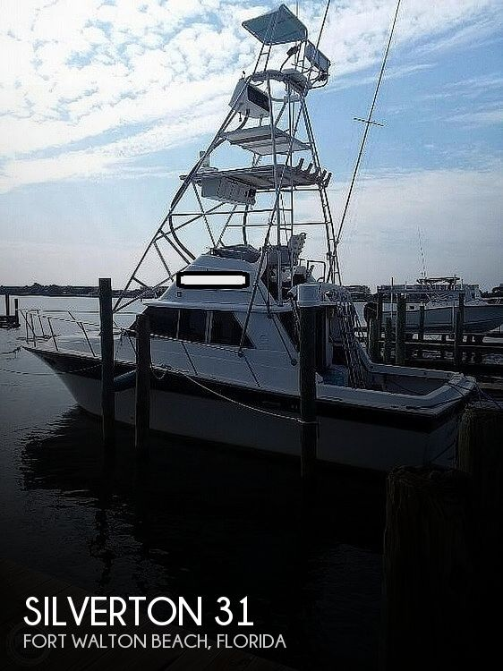 1985 Silverton boat for sale, model of the boat is 31 CONVERTIBLE & Image # 1 of 6