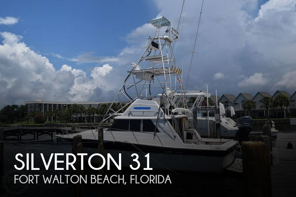 1985 Silverton boat for sale, model of the boat is 31 CONVERTIBLE & Image # 1 of 40
