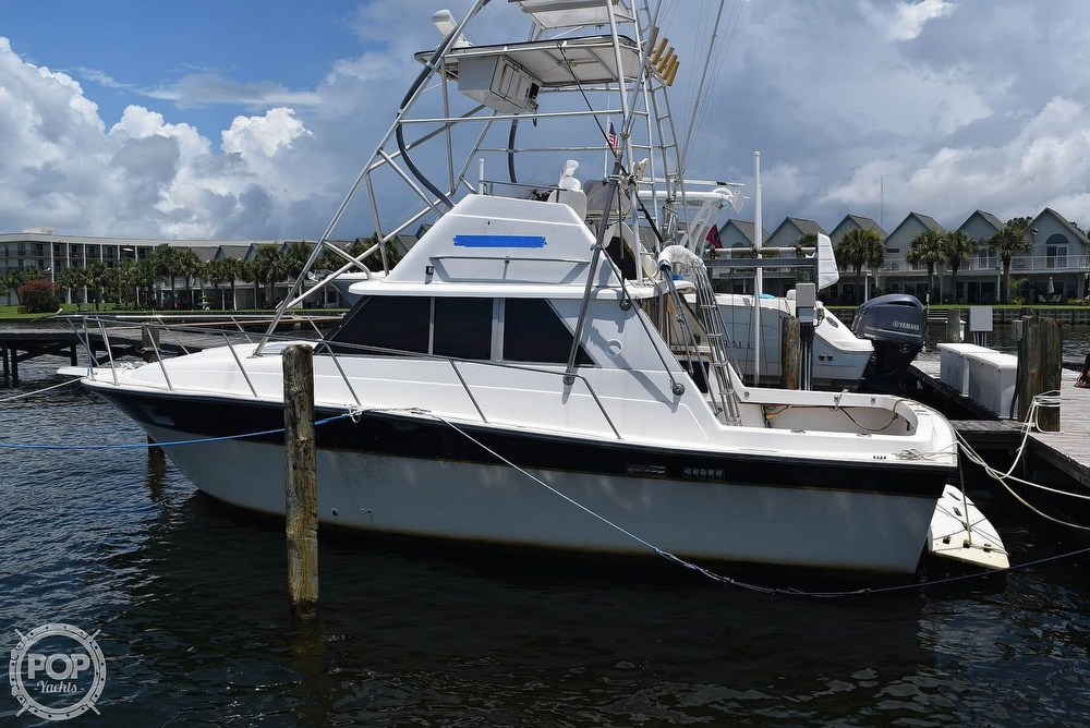 1985 Silverton boat for sale, model of the boat is 31 CONVERTIBLE & Image # 5 of 40