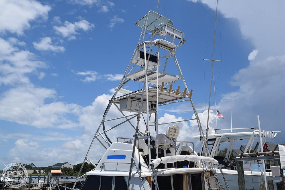 1985 Silverton boat for sale, model of the boat is 31 CONVERTIBLE & Image # 8 of 40