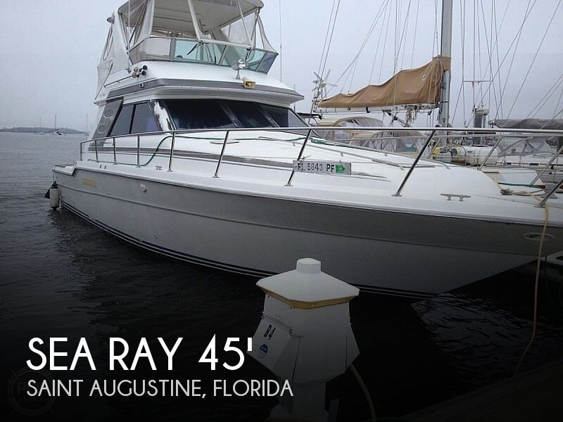 Used Sea Ray Boats For Sale in Jacksonville, Florida by owner | 1988 Sea Ray 430 Convertible