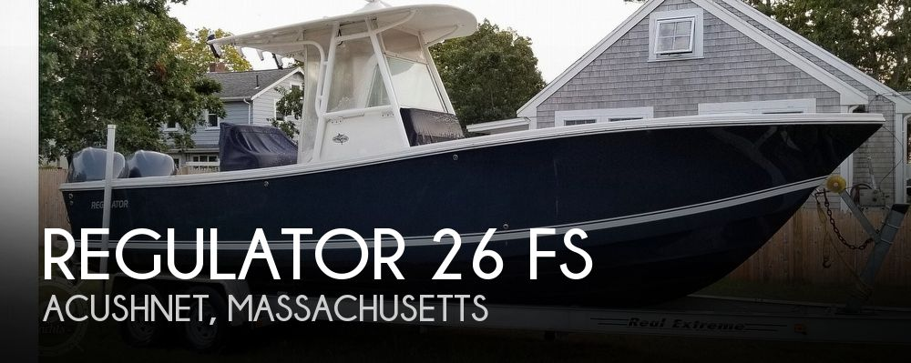 Used 26 Boats For Sale by owner | 2005 Regulator Marine 26 FS