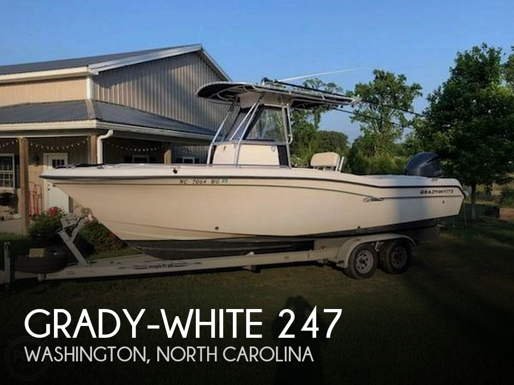 Used Grady-White Boats For Sale in North Carolina by owner | 1999 Grady-White 247